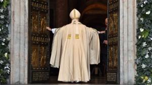 pope and door