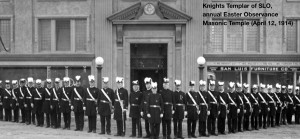 """Thanks to Robert Bettencourt, 2012 Master of the Lodge, King David's Lodge No. 209 for biographical information and photographs. History Center of San Luis Obispo for photo."""""""
