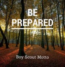 Boy Scout Motto, Be Prepared, jon sage, jon patrick sage, usa, boy scouts of america